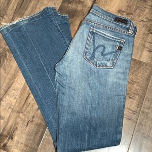 Citizens for humanity bootcut jeans